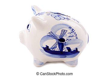 typical dutch piggy bank
