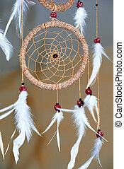 Dream catcher - Shot of dream catcher in bedroom