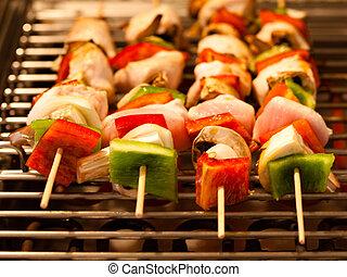 brochette grill
