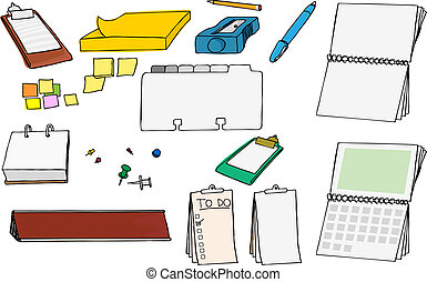Office Supplies I - Assortment of various office and school...