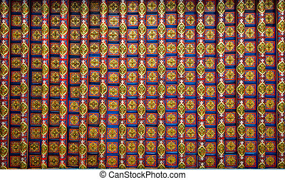 background with oriental ornaments