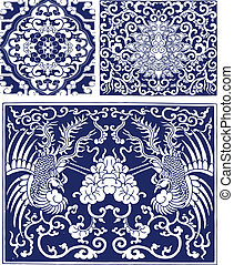 Floral Phoenix Lace Pattern