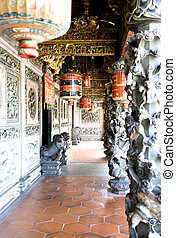 Decorative Chinese Clan House - An amazingly attractive and...