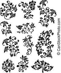 decorative branch set