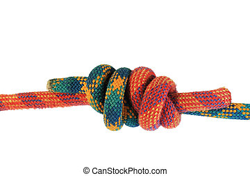 double fisherman's knot - double fisherman's or grapevine...