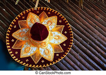 charro mariachi hat mexican icon from Mexico - beautiful...