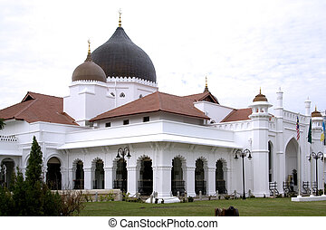 Kapitan Kling Mosque built in the early 1800s. Located in...
