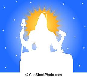 Indian God Shiva