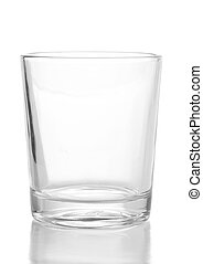 glass - crystal glass isoalted on a white background