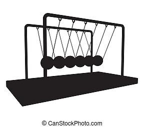 Metal Metronome Balancing Balls