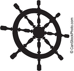 Helm Steering Wheel Vector