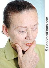 Elderly woman, portrait