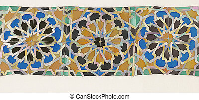 islam pattern - old islam tiles batik pattern