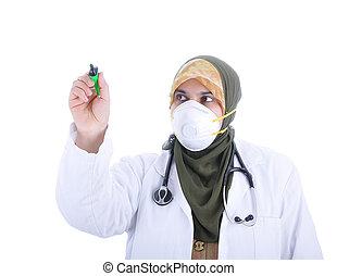 muslim woman doctor