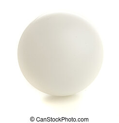 ping pong ball isolated on a white background