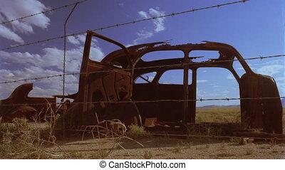 Timelapse junked car BG036