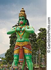 Statue of Lord Hanuman - Lord Hanuman, Batu Caves, Kuala...