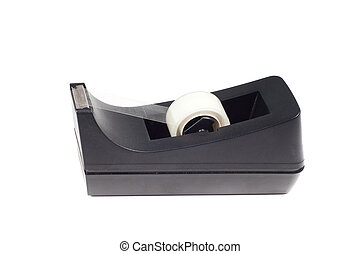 Scotch tape - Shot of scotch tape isolated on white