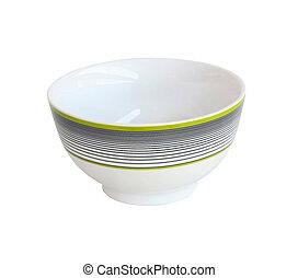 Stripe bowl