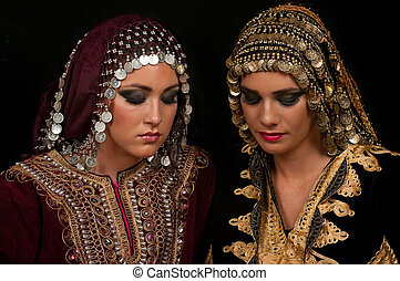 Traditional Dress and Make Up