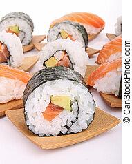 sushi maki,sushi  - japanese food