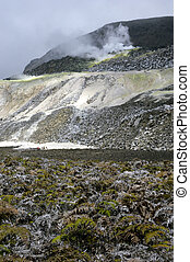 Galapagos Sulfur Volcano - The galapagos south isabella...