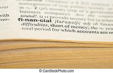 financial def