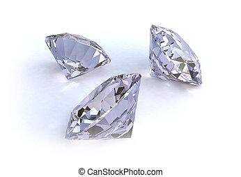 3 Diamonds - CGI made 3 Diamonds