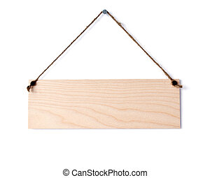 wooden board on white wall