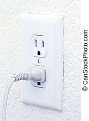 electric outlet with cord
