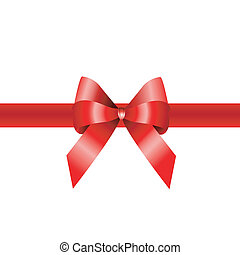 red ribbon, banner