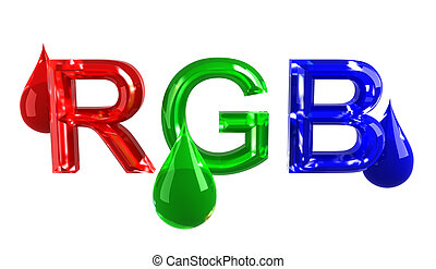 RGB drops
