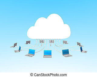 Cloud computing with notebooks