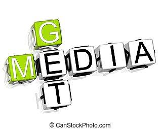 Get Media Crossword