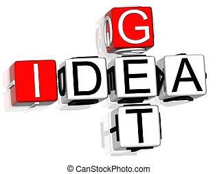Get Idea Crossword