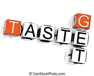 Get Taste Crossword