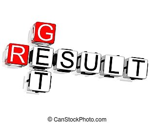 Get Result Crossword