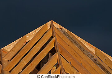 detail timber roof trusses