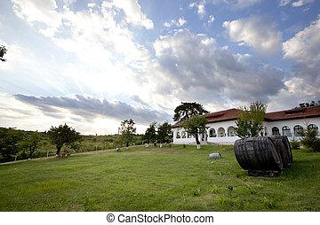 Travel Destinations, Dusk, Relaxation - House, Window,...