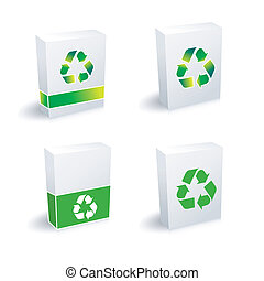 recycle boxes