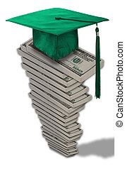 Cost of education. - High cost of education.