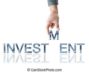 Investment word