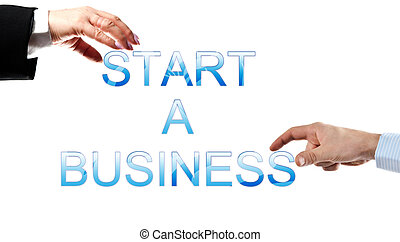 Start a business words