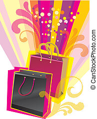 shopping bags - Illustration of shopping bags for Sale...