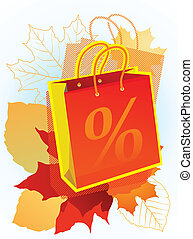 Shopping bag for sales promotion.