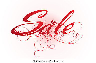 """""""Sale"""" design template."""