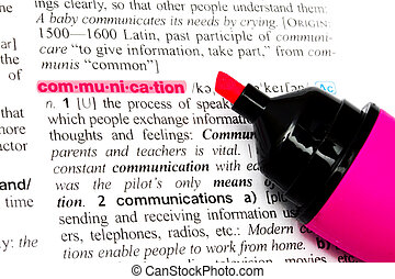The word-Communication