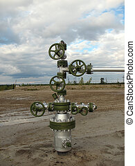 Oil well in wes Siberia.