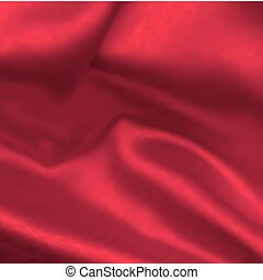 Satin red. Vector