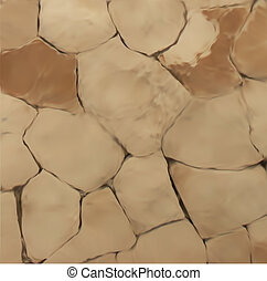 Stone Wall Texture. Vector - stone wall pattern
